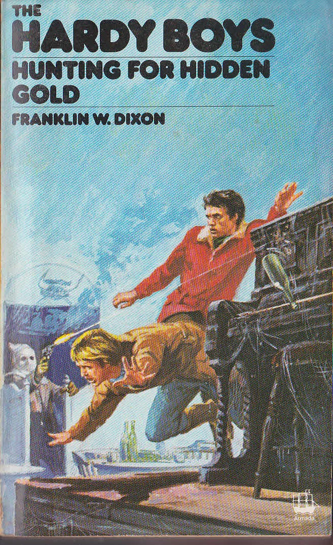 a discussion on the hardy boys series of books rigged for revenge and hunting for hidden gold The history of the mickey mouse club the series was revived the hardy boys (two serials.