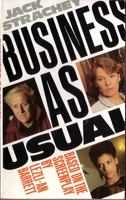 Jack Strachey  BUSINESS AS USUAL (J.Thaw, G.Jackson, C.Tyson) front book cover image