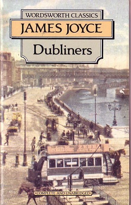 James Joyce DUBLINERS book cover scans