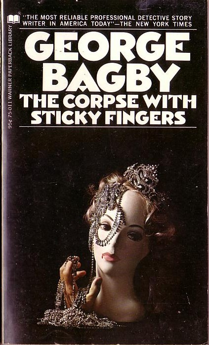 George Bagby  THE CORPSE WITH THE STICKY FINGERS front book cover image