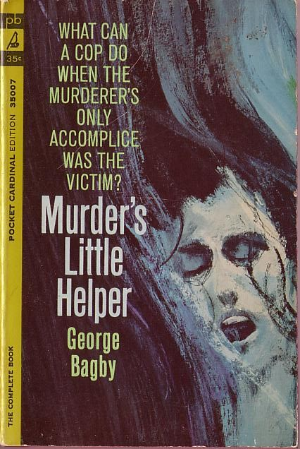 George Bagby  MURDER'S LITTLE HELPER front book cover image