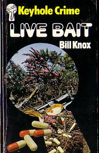 Bill Knox  LIVE BAIT front book cover image