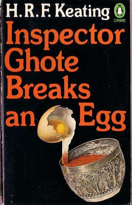 H.R.F. Keating  INSPECTOR GHOTE BREAKS AN EGG front book cover image