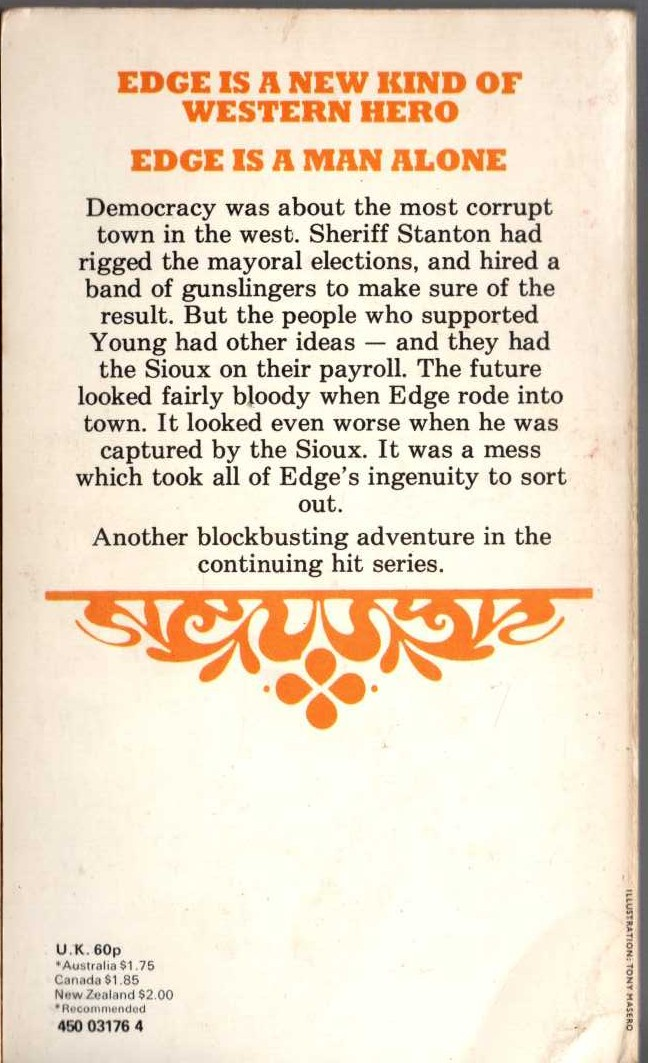 John Buchan  GREENMANTLE magnified rear book cover image