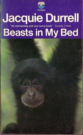 Jacquie Durrell  BEASTS IN MY BED front book cover image