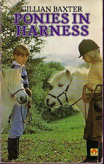 Gillian Baxter  PONIES IN HARNESS front book cover image