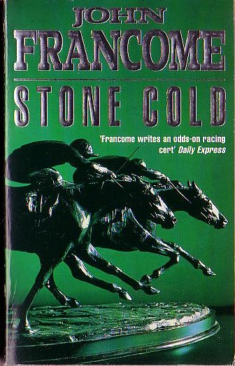 John Francome  STONE COLD front book cover image