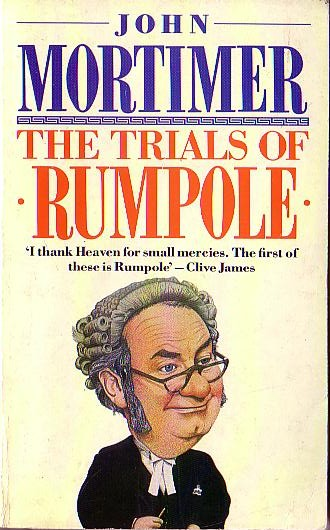 John Mortimer  THE TRIALS OF RUMPOLE front book cover image