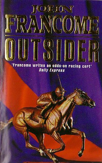 John Francome  OUTSIDER front book cover image