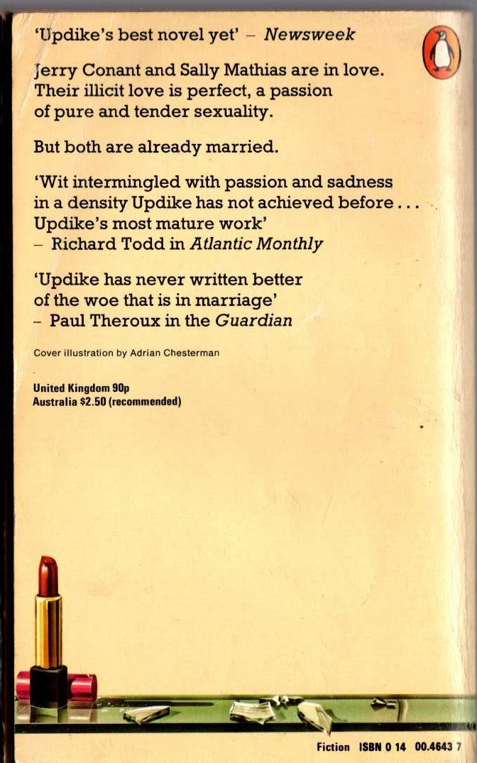 George G. Gilman  EDGE 44: THE BLIND SIDE magnified rear book cover image