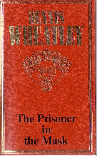 Dennis Wheatley  THE PRISONER IN THE MASK front book cover image