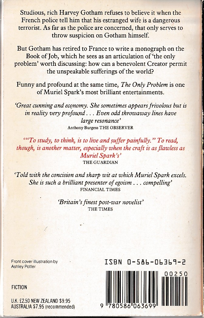 summary of the life of muriel spark On the whole, spark's faux-naif whimsy is preferable to her symbolism the former tendency existed from the beginning and -- once the reader has - return to top of the page - the complete review's review: all the poems of muriel spark isn't a very big collection: seventy-three poems in all (written.