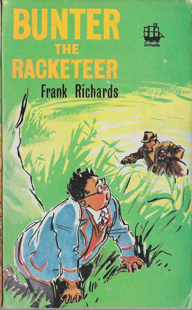 Frank Richards  BUNTER THE RACKETEER front book cover image