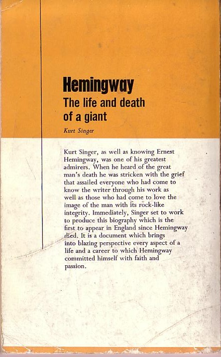 the importance of death in ernest hemingways life and his works