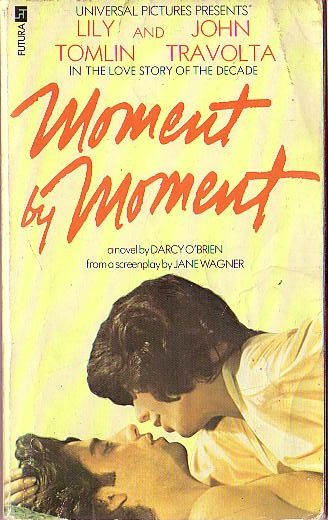Darcy O'Brien  MOMENT BY MOMENT (Tomlin & Travolta) front book cover image