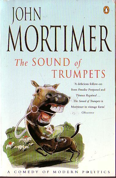 John Mortimer  THE SOUND OF TRUMPETS front book cover image