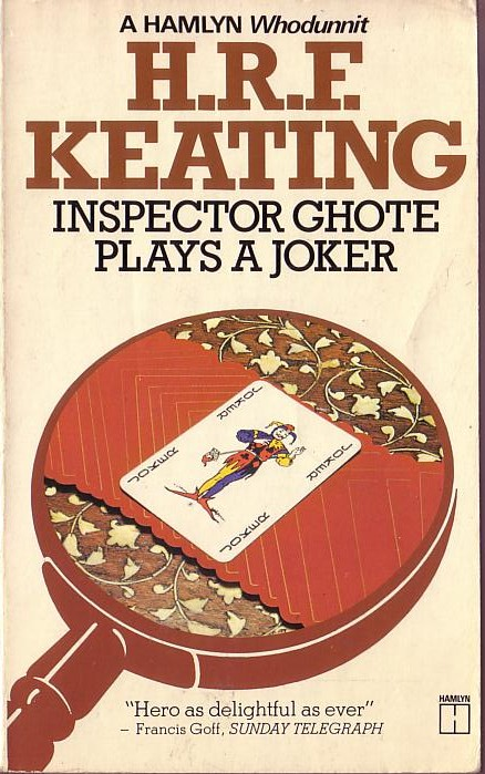 H.R.F. Keating  INSPECTOR GHOTE PLAYS A JOKER front book cover image