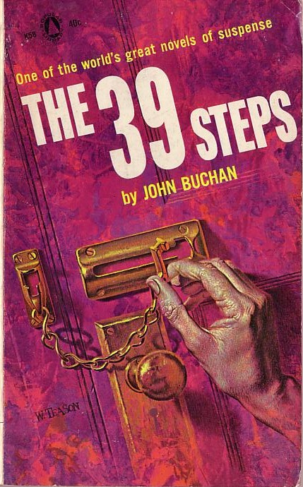 John Buchan  THE THIRTY-NINE STEPS front book cover image