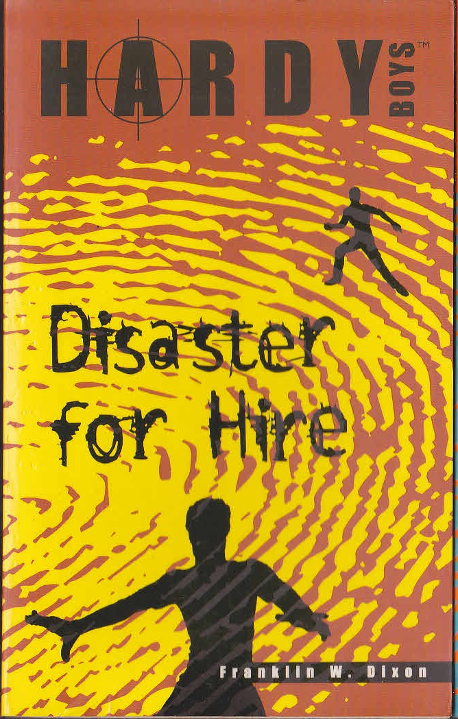 Book Cover Artist For Hire : Franklin w dixon the hardy boys disaster for hire book