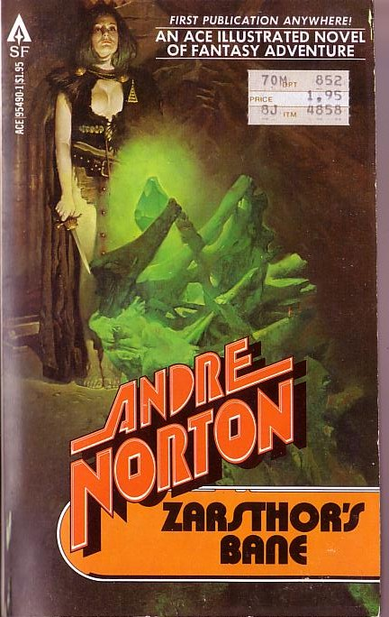 Book Cover Drawing List : Andre norton zarsthor s bane book cover scans