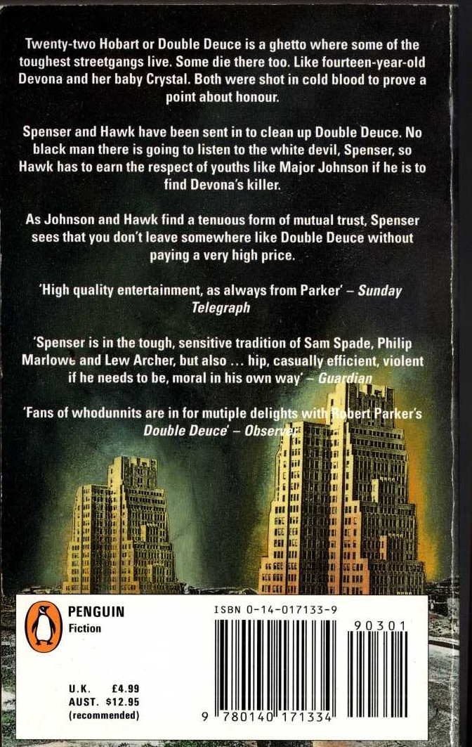 John Mortimer  THE FIRST RUMPOLE OMNIBUS: Rumpole of the Bailey/ The Trials of Rumpole/ Rumpole's Return magnified rear book cover image