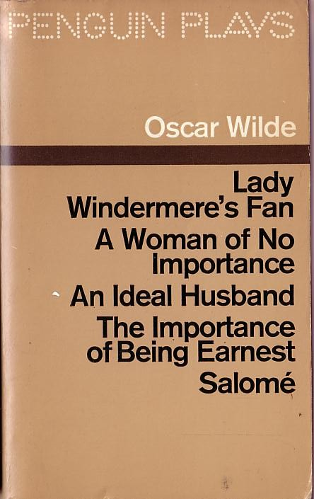 an analysis of the play lady windermeres fan by oscar wilde Lady windermere's fan, a play about a good woman is a four-act comedy by oscar wilde, first performed on saturday, 20 february 1892, at the st james's theatre in london the story concerns lady windermere, who suspects that her husband is having an affair with another woman.