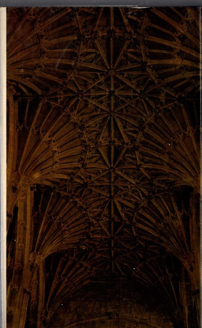 John Mortimer  THE TRIALS OF RUMPOLE magnified rear book cover image
