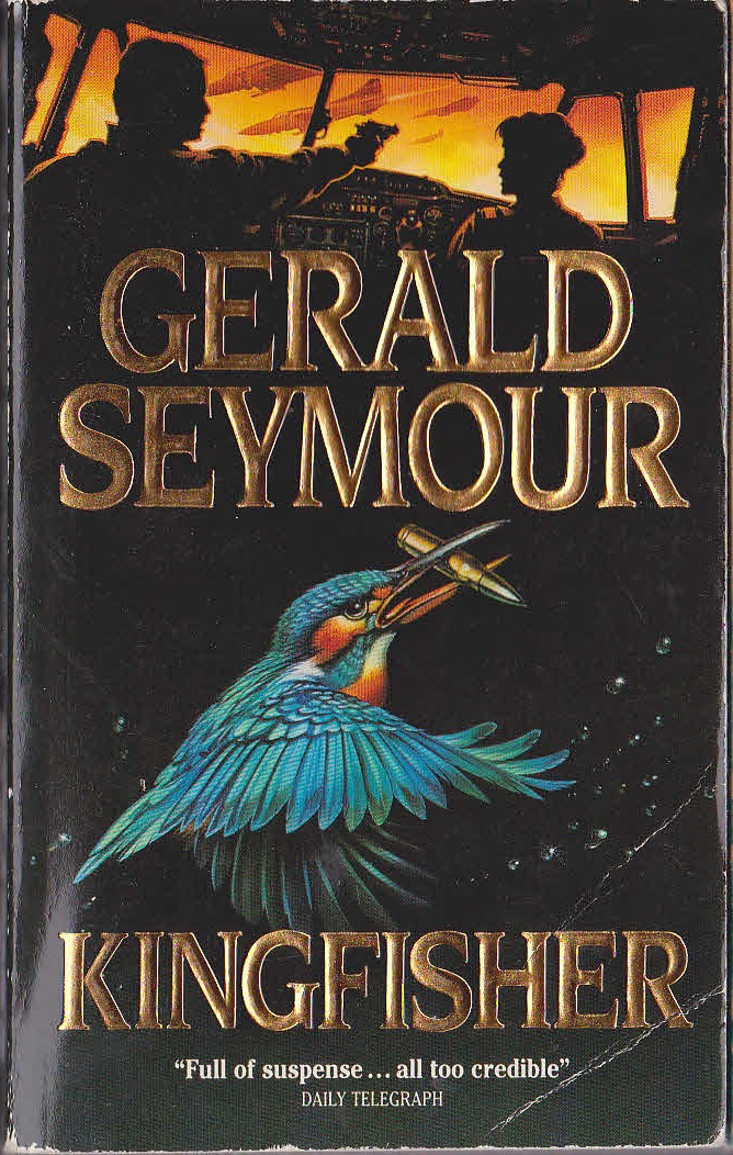 Book Cover Art For Sale : Gerald seymour kingfisher book cover scans