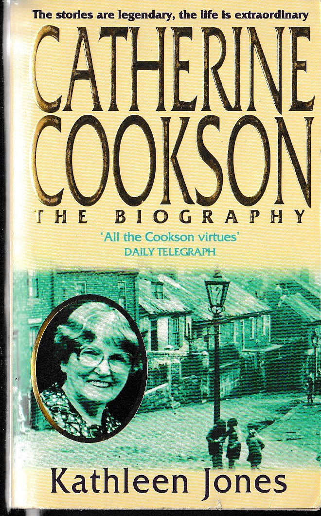 Catherine Cookson CATHERINE COOKSON: THE BIOGRAPHY book cover scans